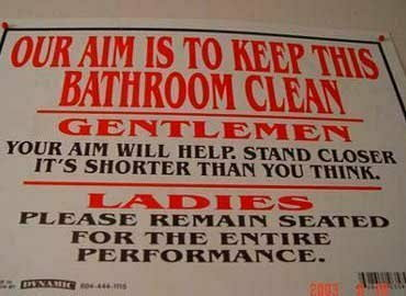 Bathroom on 31 Bathroom Etiquette