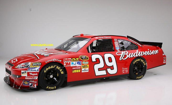 Kevin Harvick Budweiser Car Pics